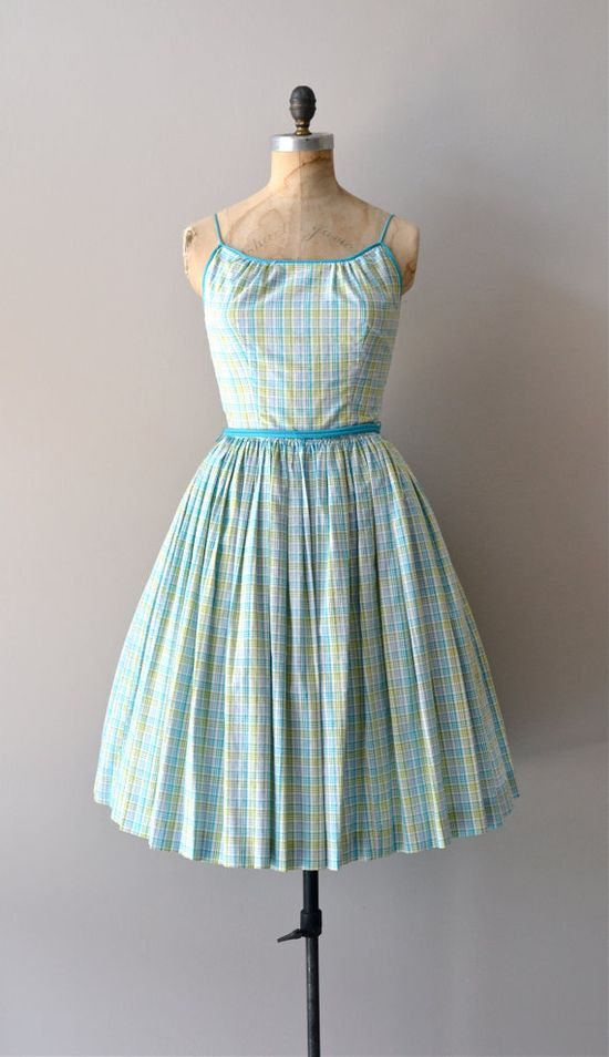 vintage 1950s Soft Composition dress by Jonathan Logan     #vintagedress