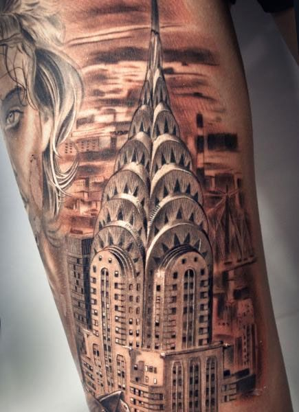 Tattoos and architecture