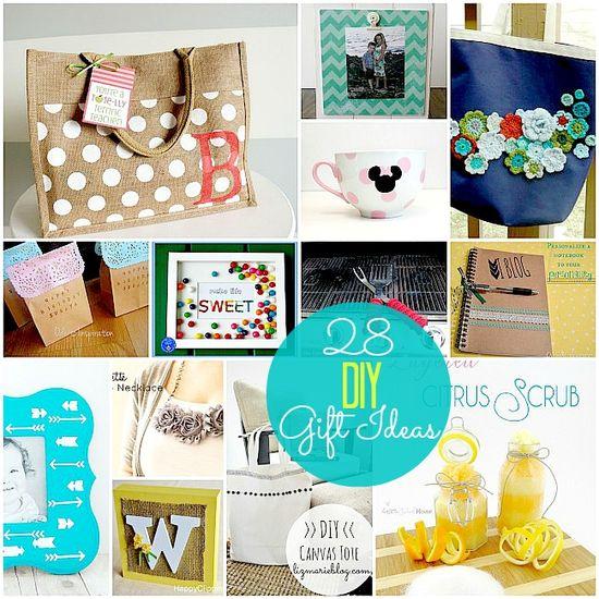 28 Beautiful DIY Gift Ideas!