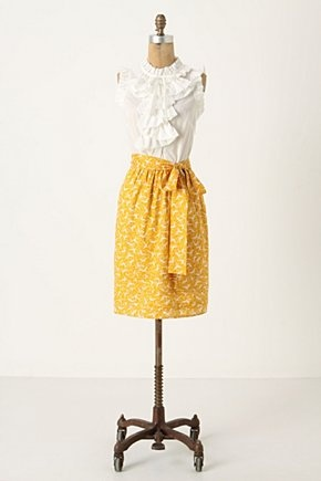 Ruffles and the mustard yellow! :)