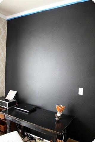 a great office design {chalkboard wall}
