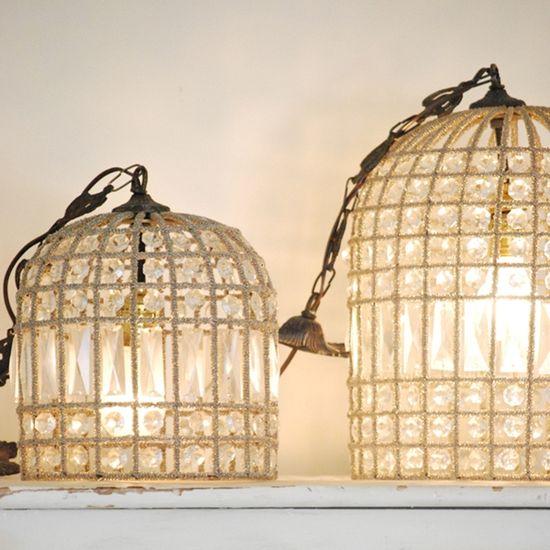 birdcage hanging light