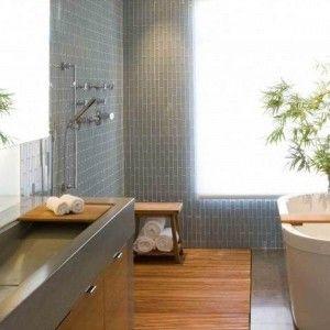Spacious Small Modern Bathroom Designs