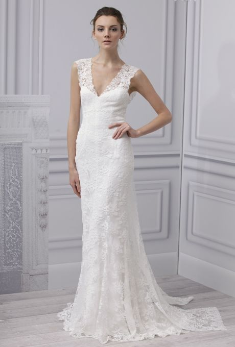 Lace Wedding Dress  Monique Lhuillier 2013 Bridal Collection