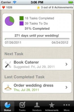 Wedding planner App - going to be glad I pinned this someday!
