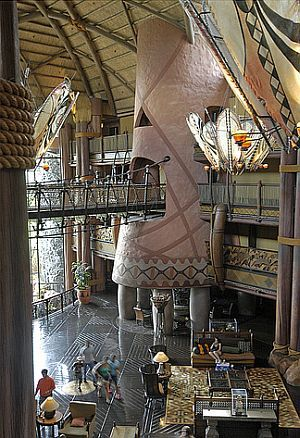 Animal Kingdom Lodge Lobby Pictures..It really is this amazing!!