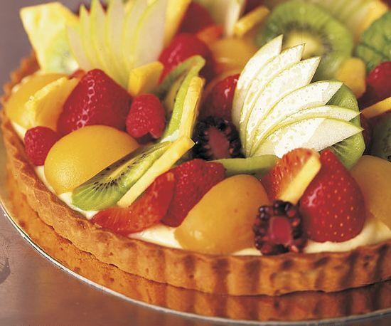 Fresh Fruit Tart by Fine Cooking