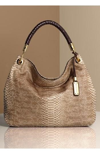 Michael Kors + Snakeskin = Handbag Perfection