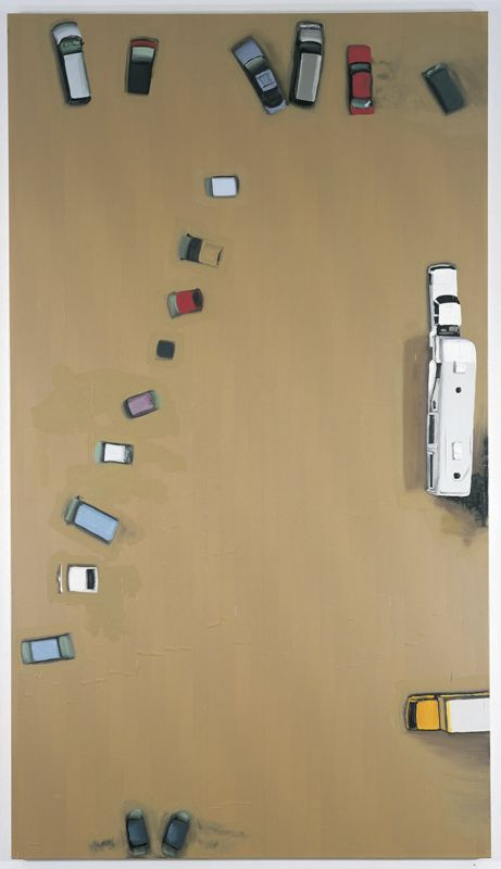 #painting #art #aerial #view #figurative #documental #flood