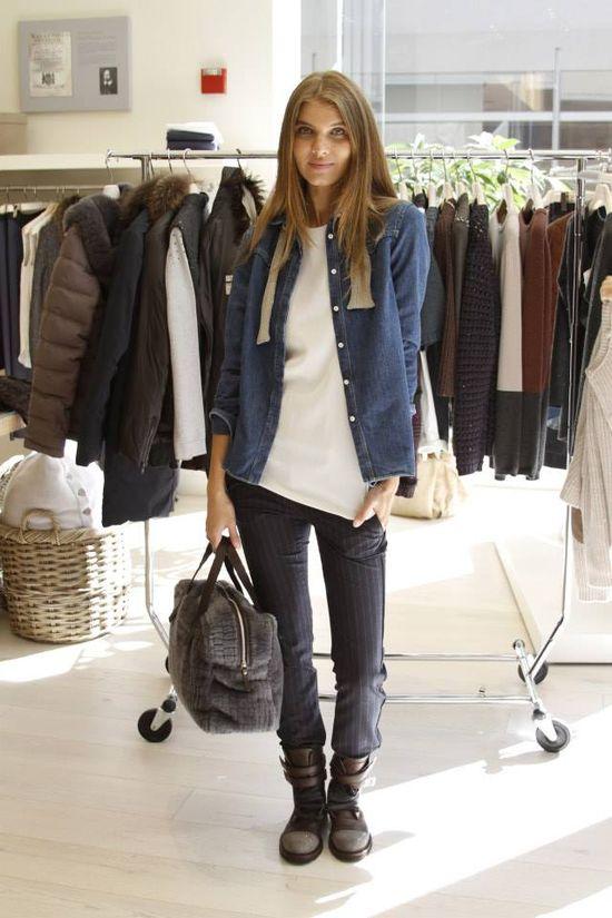 Brunello Cucinelli Fall 2013. #fashion #outfits