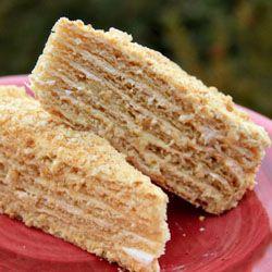 Mom's Spartak Cake Recipe