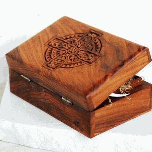 Celtic Cross Ring Bearer Box