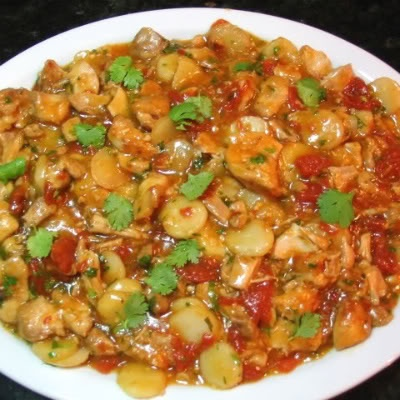 One Perfect Bite: Crock-Pot: Thai-Style Sweet and Sour Chicken