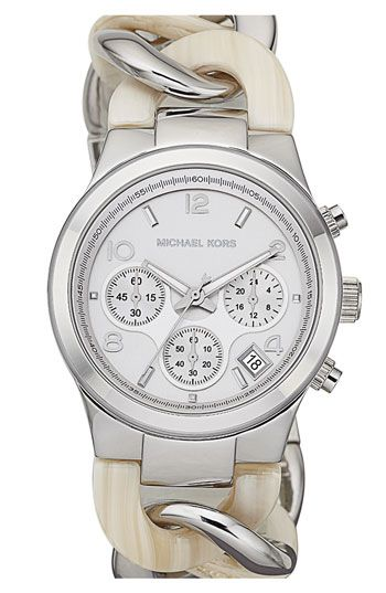 Michael Kors Chain Bracelet Chronograph Watch ??