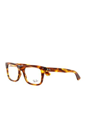 Ray Ban Unisex Striped Havana Glasses - tortoise goodness