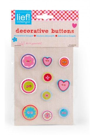 Do it yourself: decorative buttons - lief! lifestyle