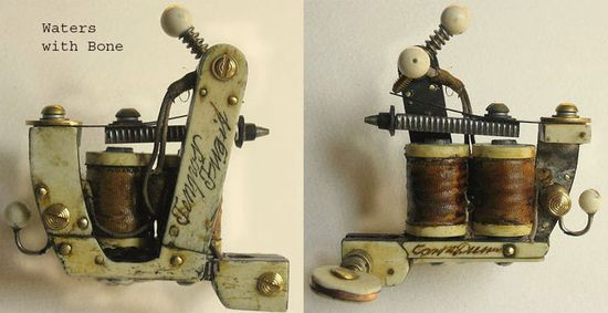 Bernhard's Garage Irons — Handmade Tattoo Machines