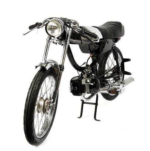 Custom Moped by 1977 mopeds: I love mopeds.