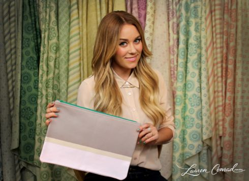 Lauren Conrad's guide on how to revamp your old clutch #DIY