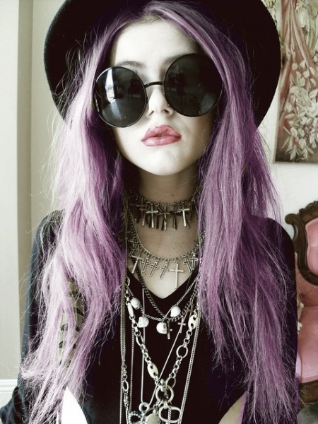Long lilac hair <3