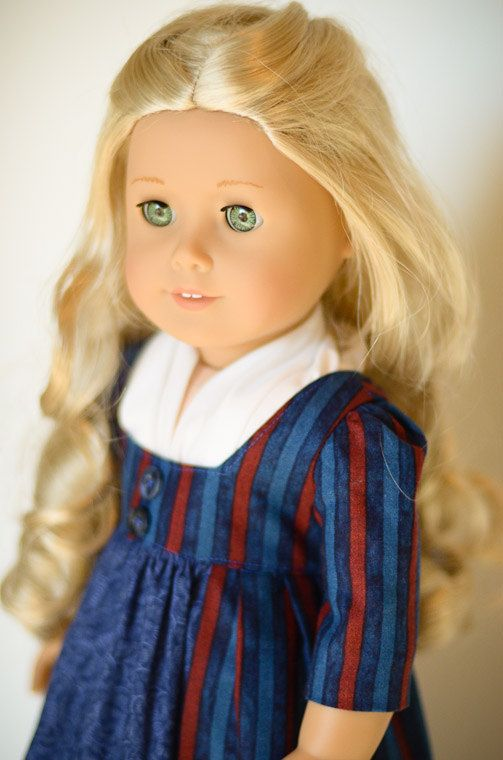 Caroline's Battle Dress - American Girl.