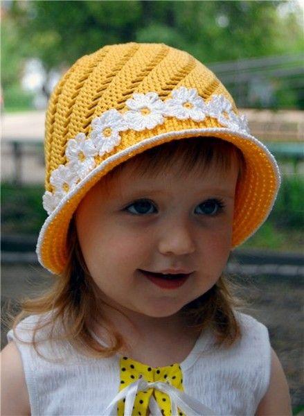 yellow hat, free crochet patterns