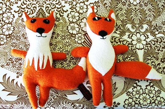 stuffed animals!