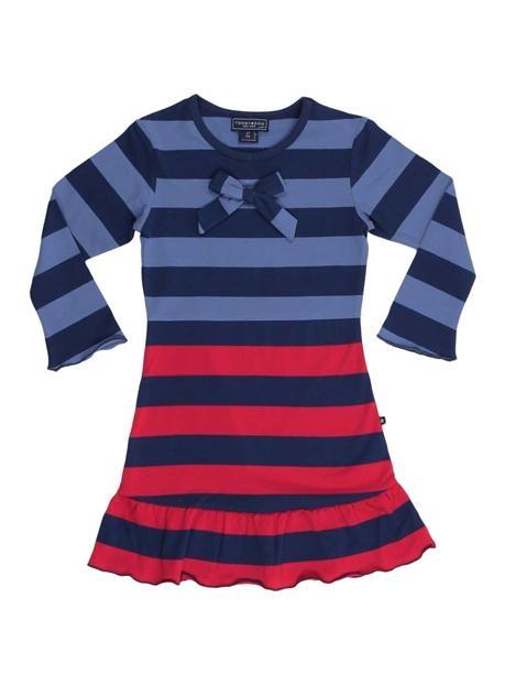 Baby Girl Striped Dress.