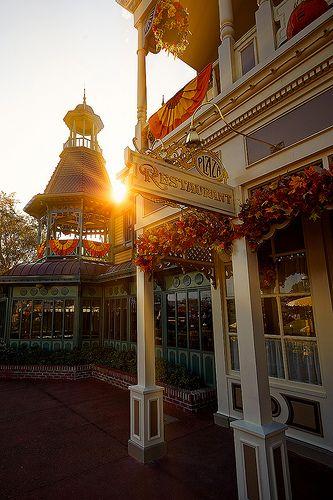 Morning at the Plaza Restaurant #magickingdom