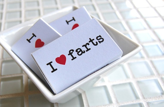 matchboxes that love farts as much as we all do...