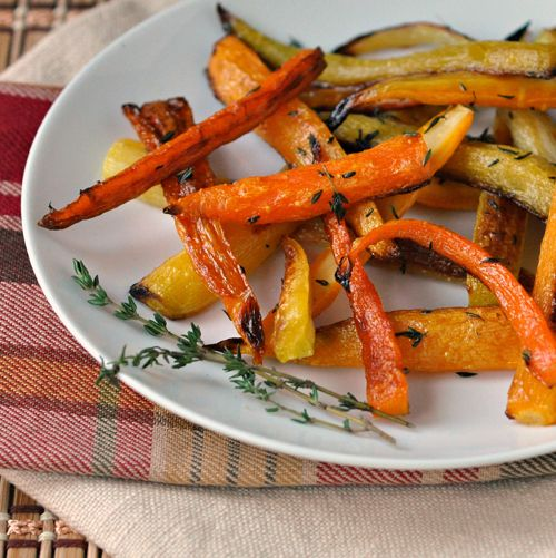 Roasted Carrots ~ The Way to His Heart