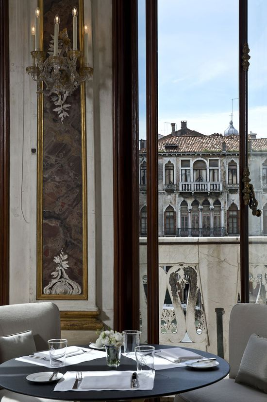 Aman Canale Grande Hotel, Venice, Italy designed by Jean Michel Gathy of Denniston Architects
