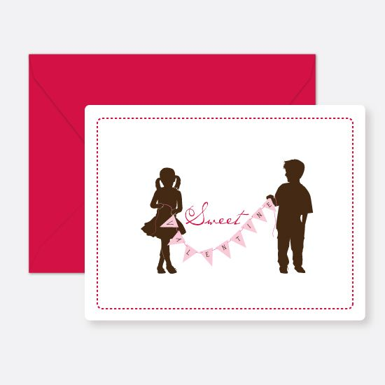 such a cute design for kids' Valentine's cards