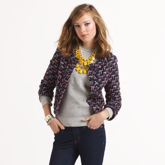Kate Spade tweed Darby jacket