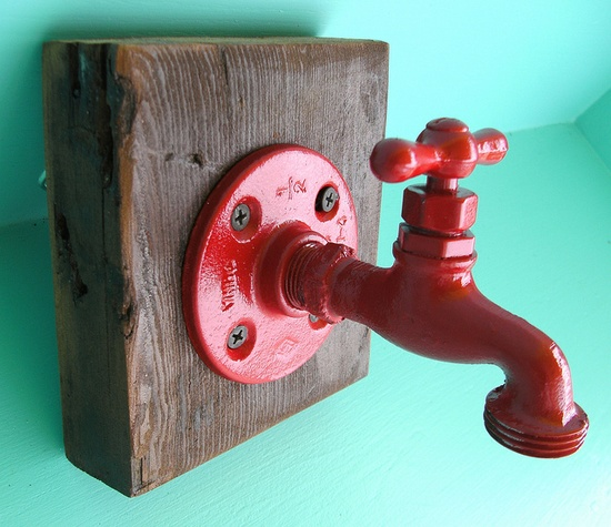 Faucet Hook by nolaclutterbusters, via Flickr