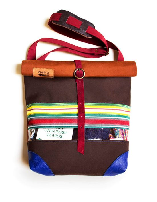 A just-right bag for summertime expeditions. #CampEtsy