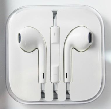 iphone 4/4s/5/ipad3 EarPods drive-by-wire earphone Music headphones