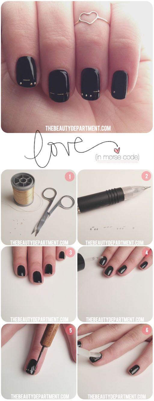 Nail Art #nail #diy #art