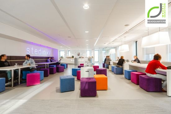 Stedin Netbeheer headquarters by Fokkema & Partners, Rotterdam