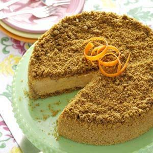 Carrot Cheesecake Recipe from Taste of Home
