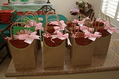 Hand-made Gift bags