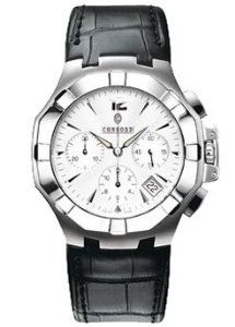 Concord Saratoga Stainless Steel Mens Watch - 0310831
