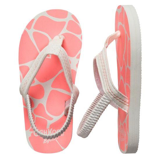 Coral Flip Flops