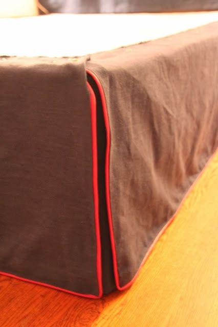 my best friend craig: making a bedskirt