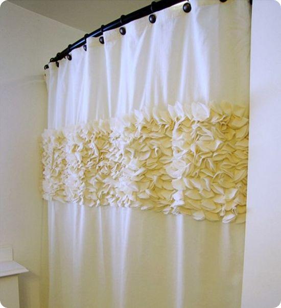 Flower Petal Shower Curtain