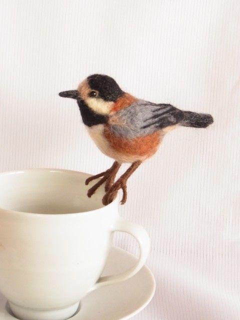 Felt bird