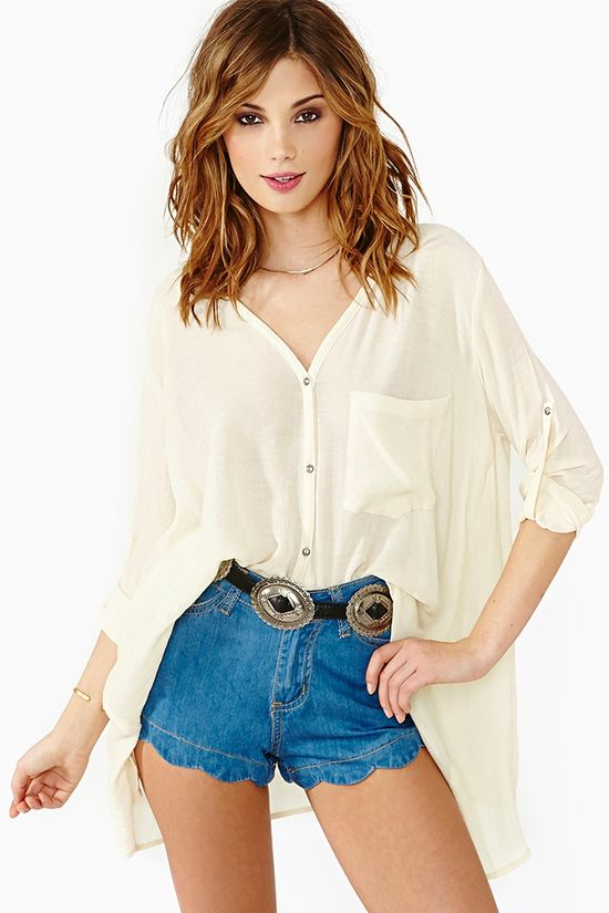 Permanent Vacation Blouse