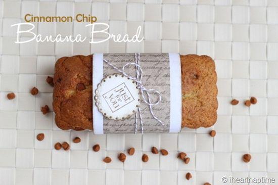 Cinnamon Chip Banana Bread #dessert #recipes