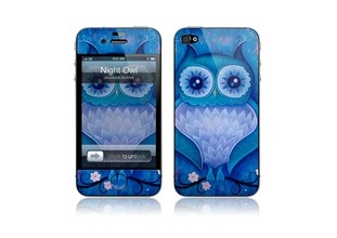 iPhone 4/4S Cover - Night Owl.
