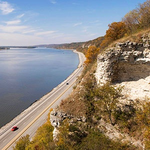 Great River Road southern illinois border of missouri.